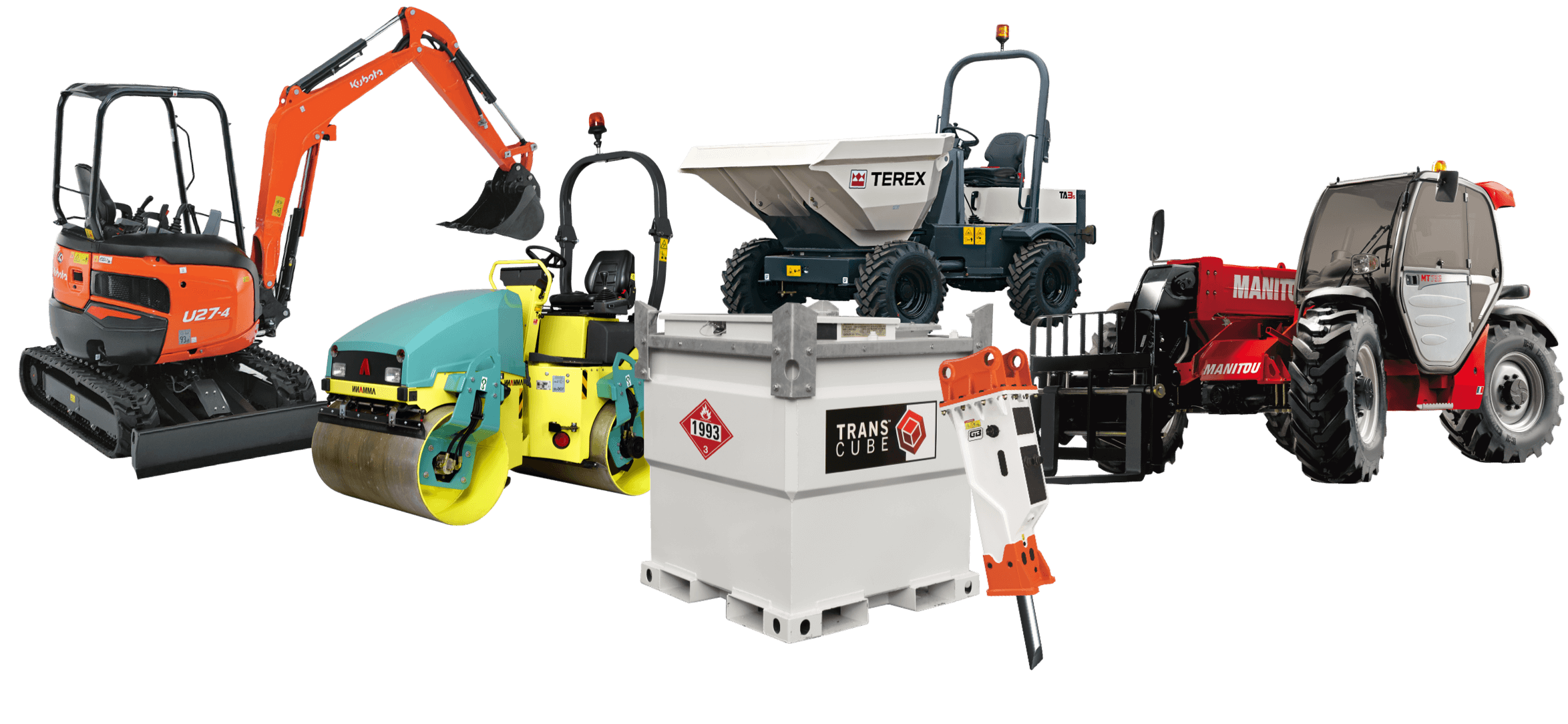 Plant Hire Products